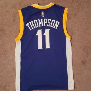 Klay Thompson Warriors jersey